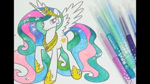 Mlp Coloring Book My Little Pony Coloring Pages For Kids Princess
