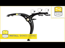 Saris Bones 3 How To Fit Rear Mounted Bike Carrier