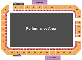 Reno Rodeo Seating Chart Reno Livestock Events Center Seating Chart Reno