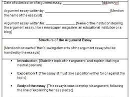 argumentative essay examples essay outline templates gallery for argumentative essay structure