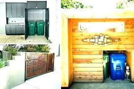 indoor trash can storage indoor trash can storage indoor trash can storage outdoor trash can cabinet