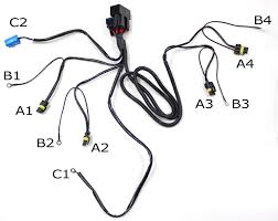 h1 hid relay harness motorcycle schematic images of h hid relay harness hid conversion kit dual relay wiring harness for h