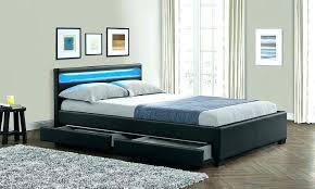 grey wood bed gray bedroom furniture dark bedside tables grey