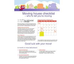 Free Printable Moving Checklist 45 Great Moving Checklists Checklist For Moving In Out