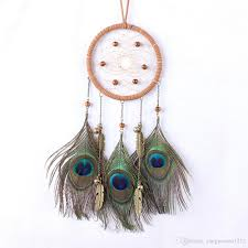 Small Dream Catchers For Sale 100 Hot Sale Indian Peacock Small Dream Catcher Home Room Wall 8