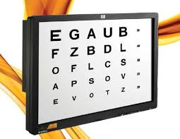 Digital Vision Chart Vision Test Aids Trail Lens Set Wholesale Supplier From