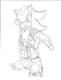 Shadow The Hedgehog Different Coloring Shadow