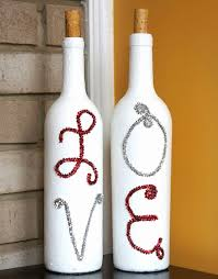 Decorating Empty Wine Bottles 100 Creative Ideas for Interior Decorating with Wine Bottles 53