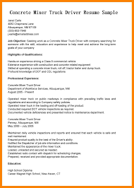 8 Truck Driver Resume Examples Job Apply Form
