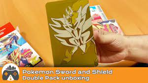 Pokemon Sword and Shield] Double Pack unboxing - YouTube