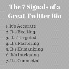 40 Key Ingredients Of A Great Twitter Bio [EasytoDo Tips] Custom Good Bio Quotes