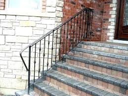 metal handrails for outdoor steps biciudadinfo outdoor stair railing diy outdoor stair railing ideas