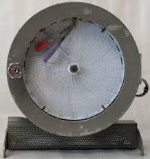 Details About Honeywell Circular Chart Recorder 0 100f 0 100 R H R612x21 Kl Ii Iii 86