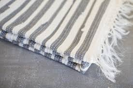 grey and white woven rug png