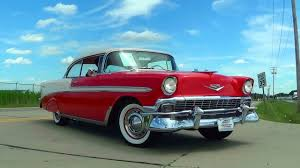 All Chevy chevy classic cars : Test Driving 1956 Chevrolet Bel Air Restomod 383 Stroker Five ...