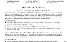 Police Officer Resume Examples Information Technology Security Specialist Resume 100 Resumes For 19