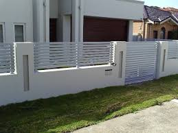 Small Picture Modern Fence Gate Design Modern fence design ideas Fencing