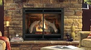 portland fireplace heat n portland willamette ovation ii fireplace doors