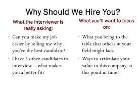 interview for hr position questions and answers why should we hire you answer to interview questions