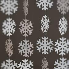 Paper Snowflake Garland Craftbnb