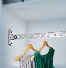 wall mount clothes hanger rack wall