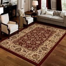 Red Living Room Rug Darby Home Co Arradale Claret Red Beige Area Rug Wayfair