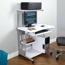 small portable desks small compact mobile portable computer tower with shelf desk with wheels small portable