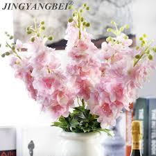 80CM Latex Delphinium <b>Hyacinth Artificial flowers</b> continental PU ...