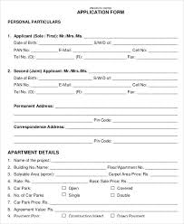 Sample Rental Application Form Beauteous Tenant Application Form Unique Free Landlord Rental Application