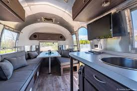 Travel trailers interior Bedroom Airfield Guest Lodging Thestarkco Timeless Travel Trailers Airstreams Most Experienced Authorized