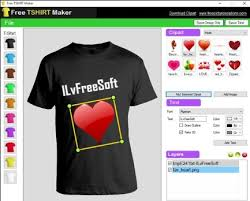 T Shirt Editing Software Download Free T Shirt Design Software