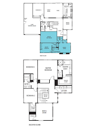 Builders Tweak Floorplans for Multi Generation Families   RSJensen    This floor plan shown is one of the  quot Next Gen quot  homes offered by Lennar around the country  the section in blue shows the area of the home   the potential