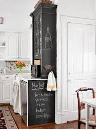 40 Ways To Update Your Kitchen With Paint Better Homes Gardens Simple Chalkboard Paint Backsplash Remodelling