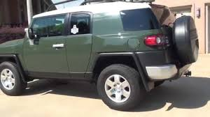 HD VIDEO 2012 TOYOTA FJ CRUISER 4X4 ARMY GREEN SEE WWW ...