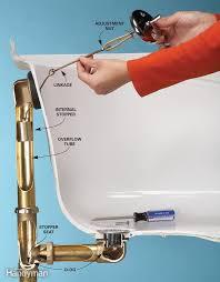 how to fix bathtub drain stopper bathtub drain bathtub drain leaking