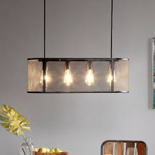 Hopkins Black Pendant Light by INK+IVY - Overstock - 18828192