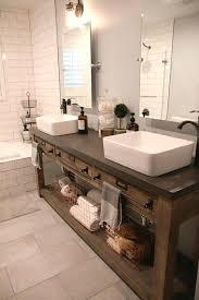 bathroom sink decor. Rustic Bathroom Sink Ideas Fabulous Elegant Vanities And  Cabinets For A Reclaimed Wood Double Vanity Home Decorating Bathroom Sink Decor D