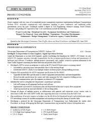 Electrical Project Engineer Sample Resume 7 Project Engineer Resume