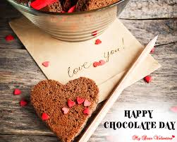 happy chocolate day heart graphic dear valentine love facebook whatsapp hd wallpaper