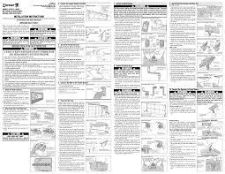 linear garage door opener user manual