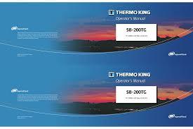 Sb 200tg Thermo King Manualzz Com