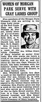 Helen Lenore Raymond Stuart - Capt. Warren Stuart - Lt. Spencer R. Stuart -  Newspapers.com
