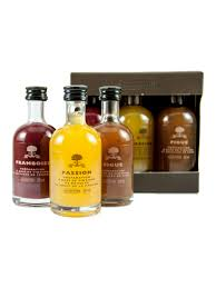 a l olivier 3 vinegars gift set raspberry fig pion fruits