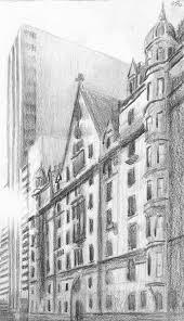 The Dakota Drawing by Duane Gordon