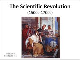 Scientific Revolution Powerpoint Student Handouts