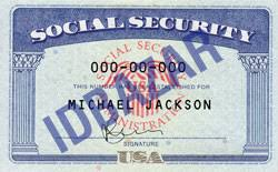 Social Template Security Security Card Social