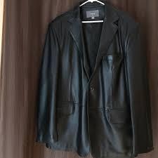 apt 9 other men s leather sport coat
