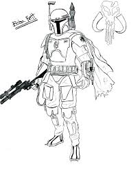 Star Wars Coloring Page Stormtrooper Pages Printable Yoloerco