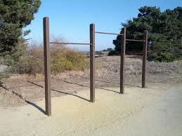 pull up bars at candlestick point fitness course