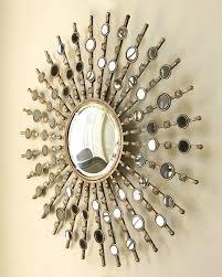 pretentious idea sunburst wall decor round mirror starburst mirrors over couch for walls outdoor of burst wall decor sunburst
